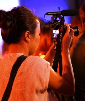 Filming for Rappler.com