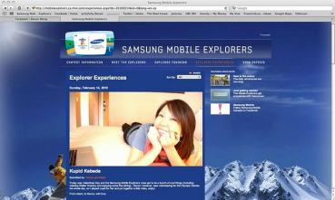 MSN Homepage during Winter Olympics
