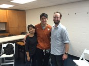 Filming with Joseph Schooling in Austin, Texas for Singapore's Finest