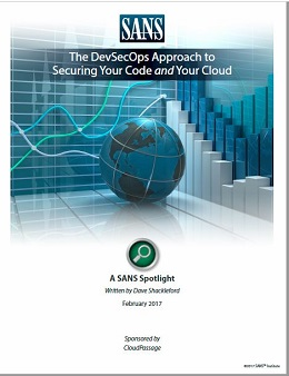 The DevSecOps Approach to Securing Your Code and Your Cloud