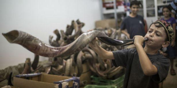 shofar-child-rosh-hashana-holiday-