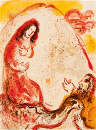 Ruth by Marc Chagall