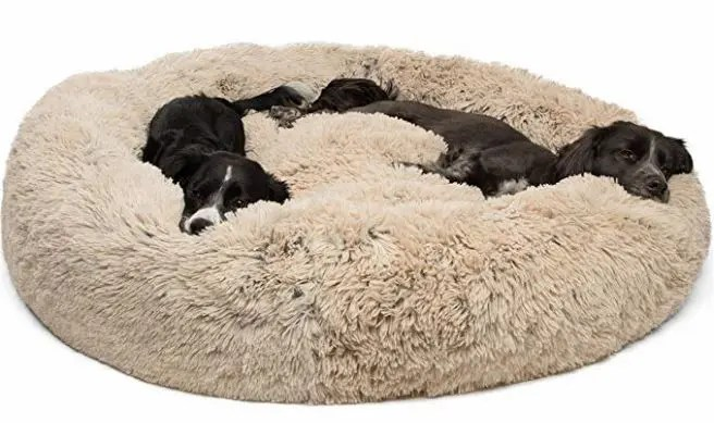 extra large dog pillow bed