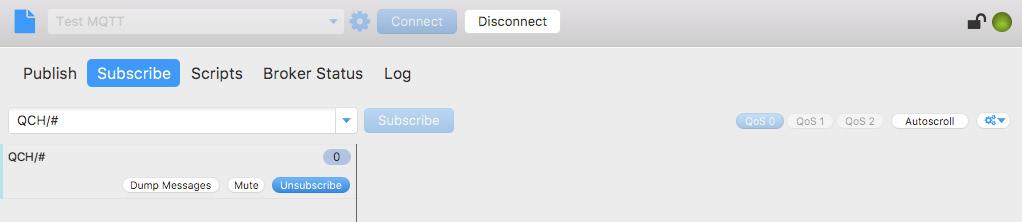 MQTT.Fx - Subscriber