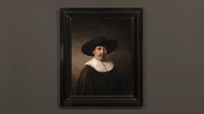 un Rembrandt créé par une intelligence artificielle