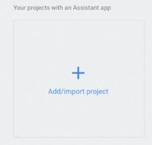 Création du projet