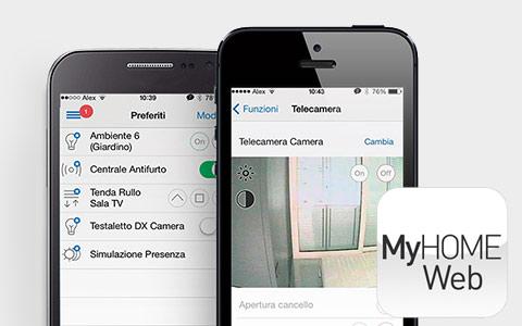 Application MyHome web