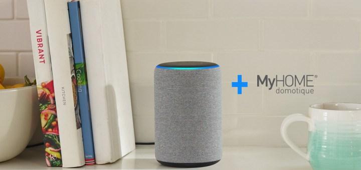 Legrand MyHOME & Alexa de Amazon