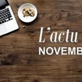 L'actu de Novembre