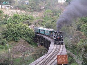 http://en.wikipedia.org/wiki/File:Tourist_train_at_Alto_Mire_Olga.JPG