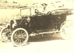 Grandpa Frank Whittemore Chiloquin Oregon c. 1910