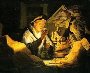 http://en.wikipedia.org/wiki/File:Rembrandt_-_Der_reiche_Narr.jpg