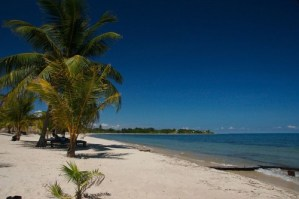 http://commons.wikimedia.org/wiki/File:Beach_front_at_Placencia,_Belize.jpg