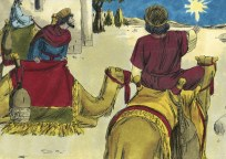 http://commons.wikimedia.org/wiki/File:Gospel_of_Matthew_Chapter_2-2_(Bible_Illustrations_by_Sweet_Media).jpg