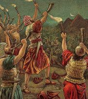Gideon and His Three Hundred (Bible Card) www.thebiblerevival.org wikimedia public domain