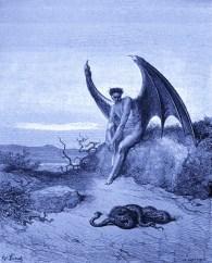Lucifer - By Gustave Dore - Wikimedia - Public Domain