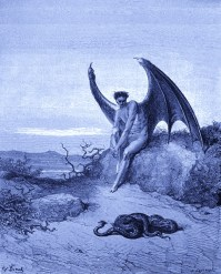 Lucifer - By Gustave Dore - Wikimedia - Public Domain