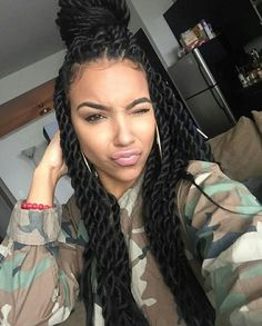 Chic And Beautiful Senegalese Twists Hairstyles Part 23