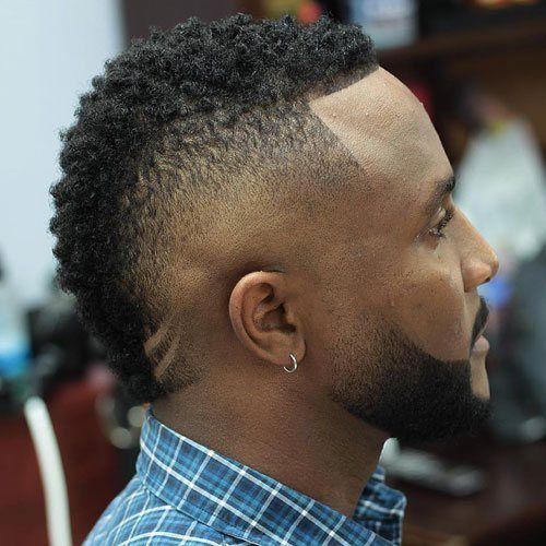 Frohawk Hairstyle Black Men