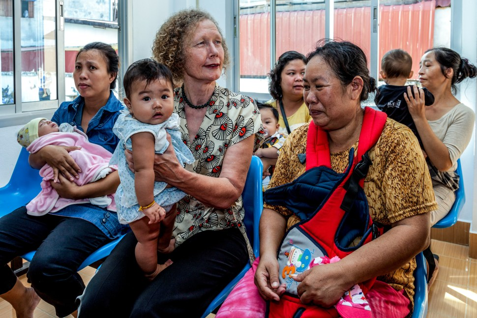 Helen in Lao PDR in 2013, as it became the first Asian country to begin a HPV demonstration project with Gavi support.
