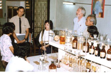 Phillip with colleagues in Danang, Vietnam.