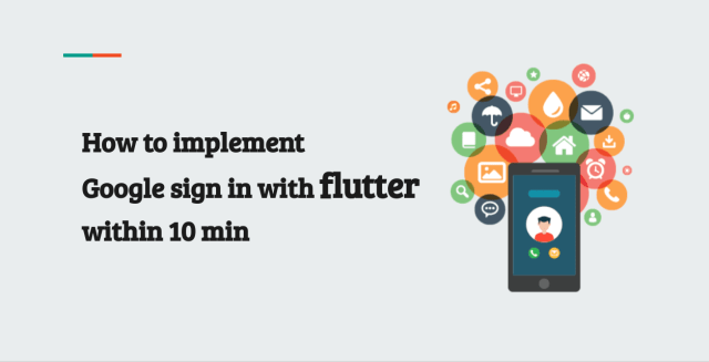 How to implement Google sign in with flutter within 10 min
