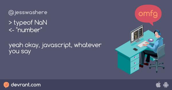 js - > typeof NaN