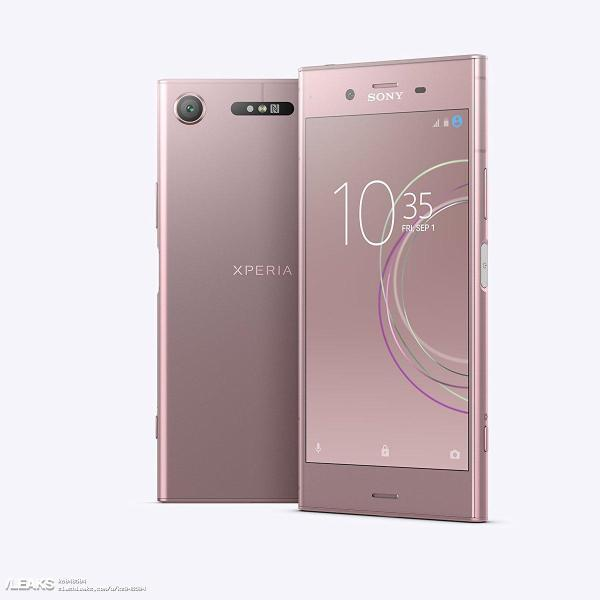 SONY Xperia XZ1 press renders get leaked