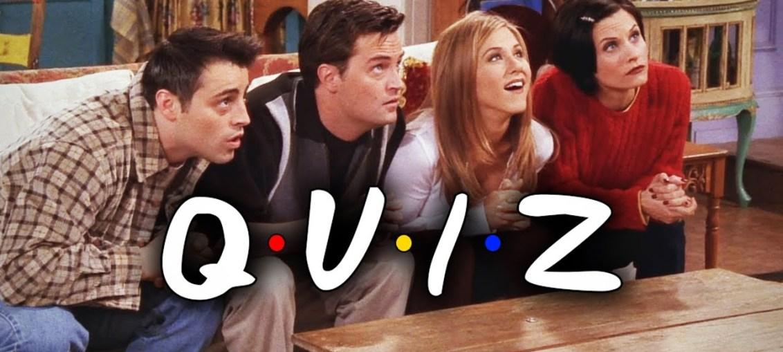 FRIENDS Quiz : Reunion Special