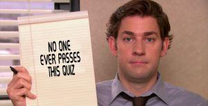 Jim Halpert Quiz