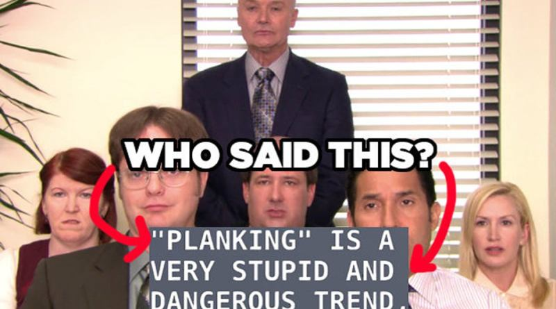 The Office Who Said It Quiz