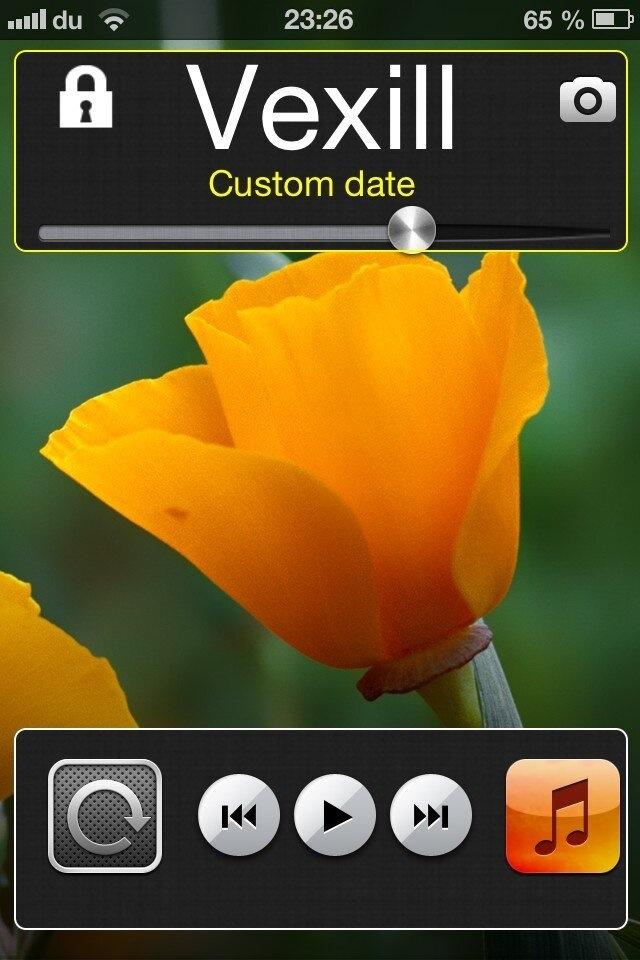 Vexil, custom your lockscreen without respring (4/4)