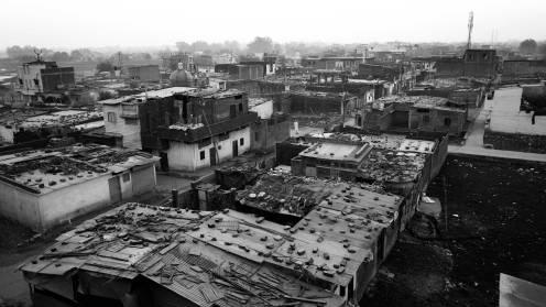 Preet Nagar, Union Carbide Factory, Bhopal, Madhya Pradesh India 2013.