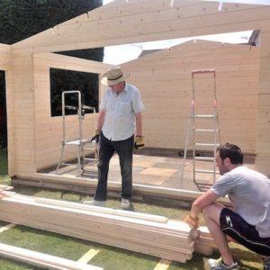 Log Cabin Fitting Tips