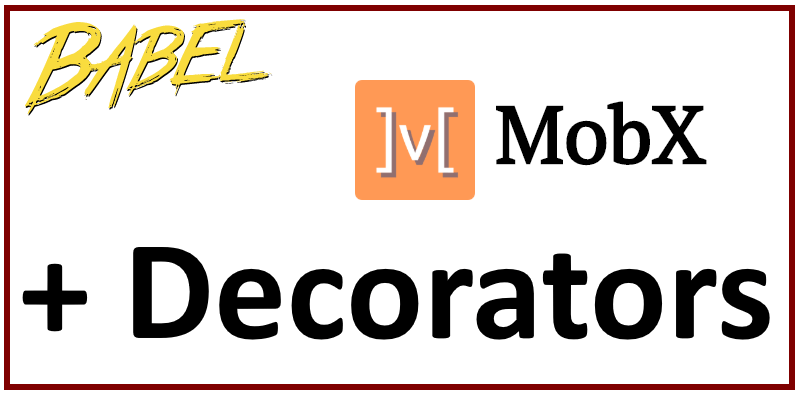 decortor mobx react