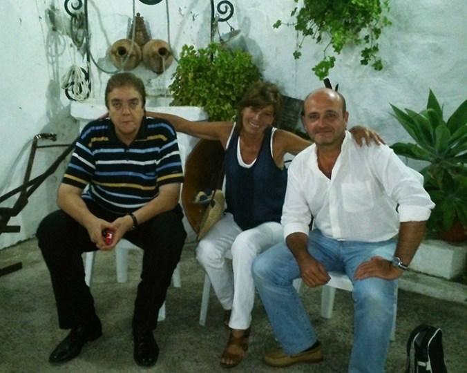 Manuel Bohórquez Casado, Pilar Fuertes y Quico Pérez-Ventana