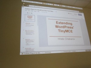 WordPress Meetup Extending TinyMCE