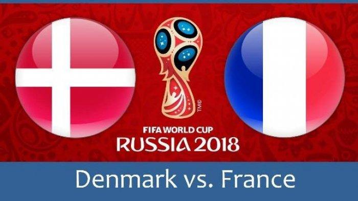 Piala Dunia 2018 : Hasil Denmark vs Prancis: Skor 0-0