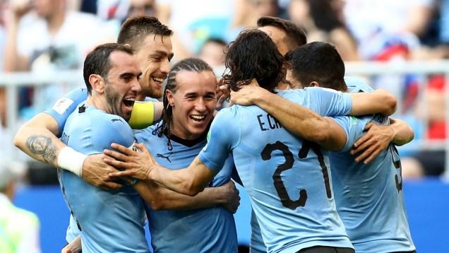 Uruguay mengalahkan Rusia 3-0 Piala Dunia 2018
