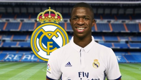 Vinicius Junior di madrid