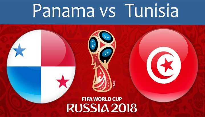 Piala Dunia 2018 : Hasil Panama vs Tunisia, Skor 1-2
