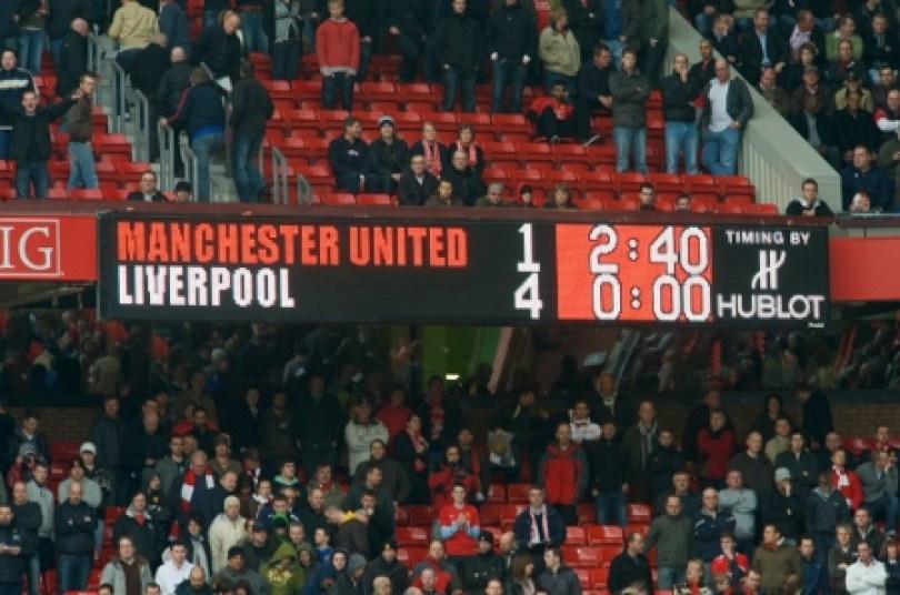 Mu vs Liverpool, skor 4-1