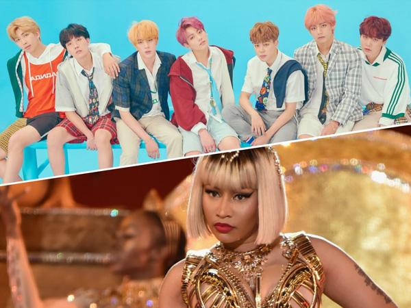 Nicki Minaj Menjadi Kejutan Di Lagu 'IDOL' BTS