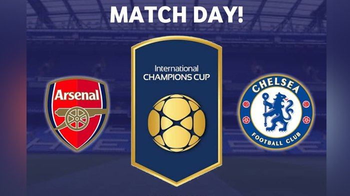 Arsenal vs Chelsea-Turnamen ICC 2018