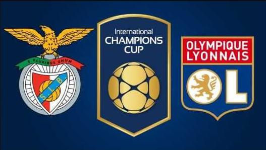 Hasil Turnamen ICC: Benfica vs Lyon, Skor 2-3