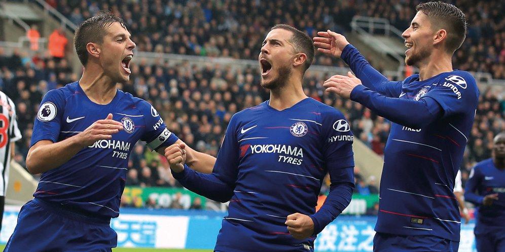 Hasil Newcastle United vs Chelsea: Skor 1-2