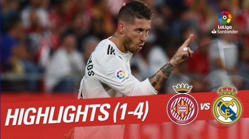 Hasil Girona vs Real Madrid-Skor 1-4