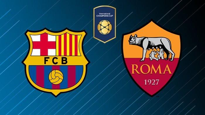 Hasil Turnamen ICC: Barcelona vs AS Roma: Skor 2-4
