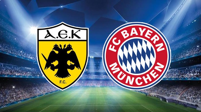 Hasil Bayern Munich Vs AEK Athens di Liga Champions