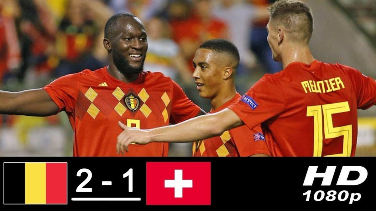 Hasil Belgia vs Swiss Di UEFA Nations League